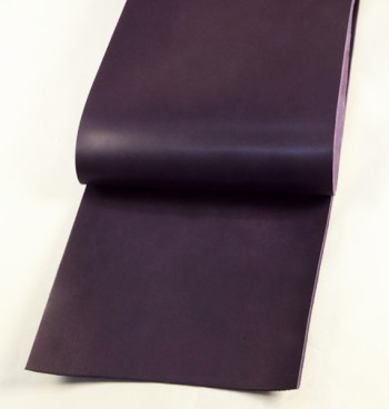 Leather cut in 30cm width, LC Premium Dyed Leather Struck Through <Purple>