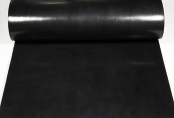 Leather cut in 60cm width, LC Leather Glazed Standard <Black>