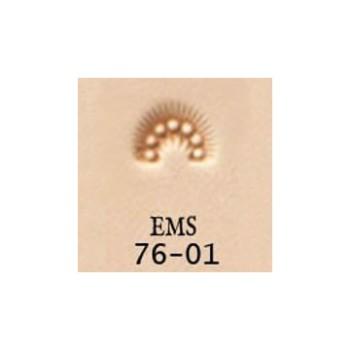 <EMS Stamp>Border Stamp 76-01