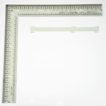 Scale with Marking Slots
