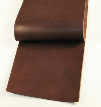 Leather cut in 30cm width, LC Tooling Leather Standard <Dark Brown>(24 sq dm)