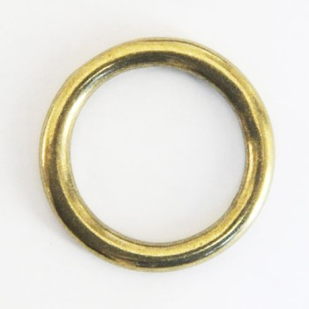 Cast Round Ring Solid Brass - 30 mm