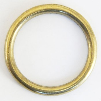 Cast Round Ring Solid Brass - 40 mm