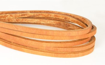 Hermann Oak Harness Leather Lace 5 mm (10 straps)