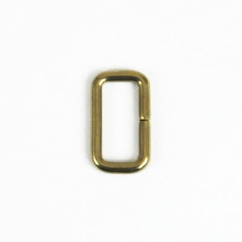 Strap Keeper Loops Solid Brass - 18 mm