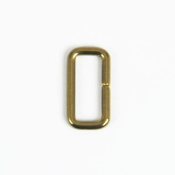 Strap Keeper Loops Solid Brass - 21 mm