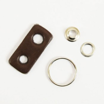 Leather Key Ring - Joint Part - LC Tooling Leather Standard