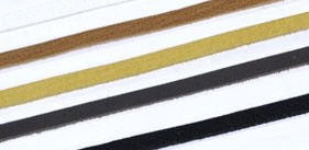 LC Deerskin Lace 5 mm(10 straps)