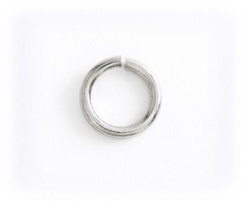 Jump Ring - 8 mm - Nickel