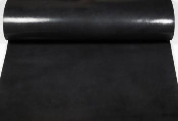 Leather cut in 60cm width,   Leather Glazed Tochigi <Black>(62 sq dm)