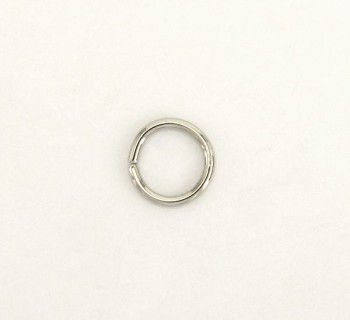 Iron Jump Ring - 12 mm - Nickel