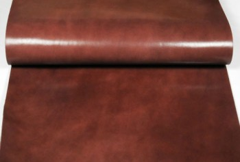 Leather cut in 60cm width, LC Leather Glazed Standard <Dark Brown>