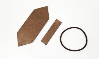 Leather Hair Ribbon kit - Mincle