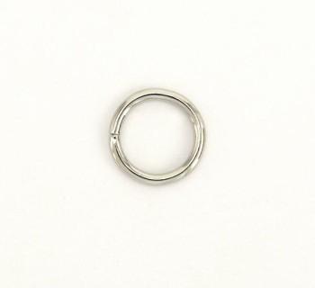 Iron Jump Ring - 15 mm - Nickel