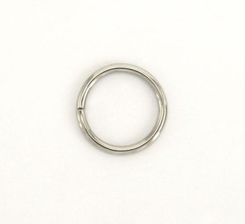 Iron Jump Ring - 18 mm - Nickel (4 pcs)