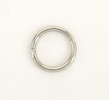 Iron Jump Ring - 24 mm - Nickel