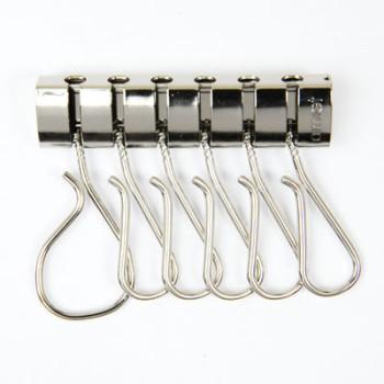 Amiet Six key Rings - N