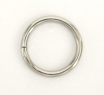 Iron Jump Ring - 30 mm - Nickel