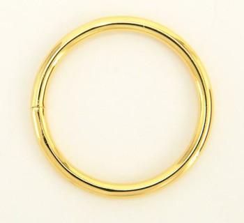Iron Jump Ring - 40 mm - Gold(4 pcs)