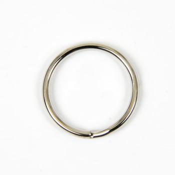 Double Split Key Ring - Nickel