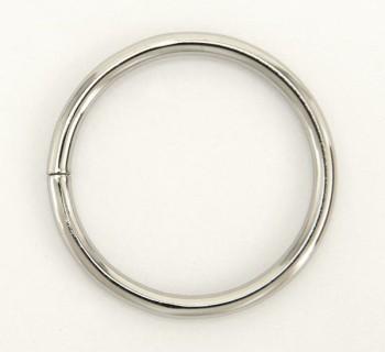 Iron Jump Ring - 40 mm - Nickel