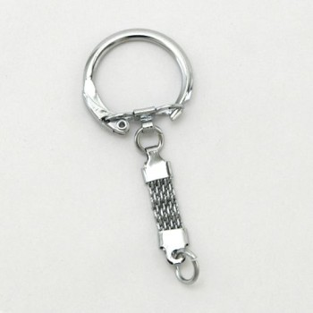 Mesh Chain Key Ring - N (5 pcs)