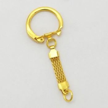 Mesh Chain Key Ring - G