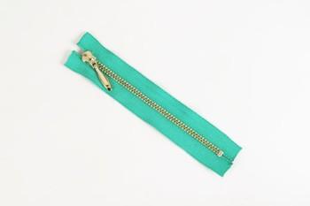 LC Zipper (YKK) 12 cm ( Nickel ) (1 pc)