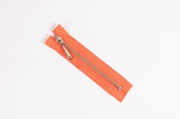 LC Zipper (YKK) 10 cm ( Nickel ) (5 pcs)