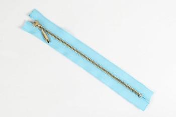 LC Zipper (YKK) 16 cm ( Nickel )(5 pcs)