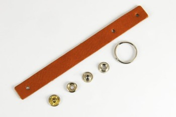 Loop Key Strap Kit - LC Tooling Leather Gallo