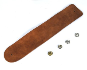Wide Leather Bracelet Kit<Regular> - Leather Mostro