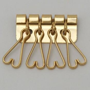Four Keychains Heart Shape G