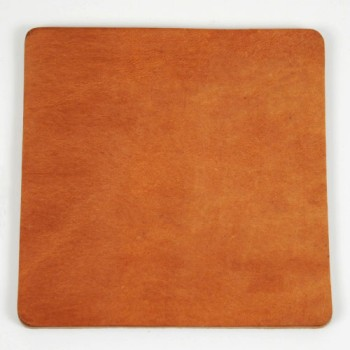 Leather Coaster <Square> - Hermann Oak Harness Leather