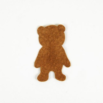 <Suede Leather>LC Bear Charm S