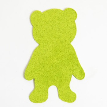 <Suede Leather>LC Bear Charm L