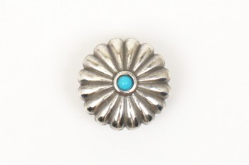 Metal Concho Round <19 mm>