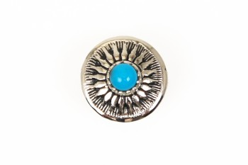 Stone Concho Turquoise <13 mm>