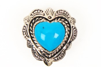 Heart Concho