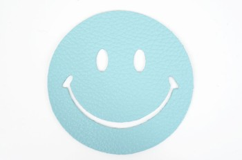Leather  Coaster <Smile> - Monfrini Dollarino