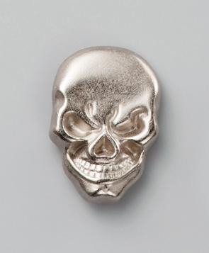 Design Snap Fastener Skull