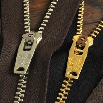 YKK Zipper <OLD AMERICAN>#3 20cm Nickel (GSN64OAZ9 Slider)(5 pcs)