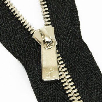 YKK Zipper <EXCELLA>#3 20 cm Nickel (5 pcs)