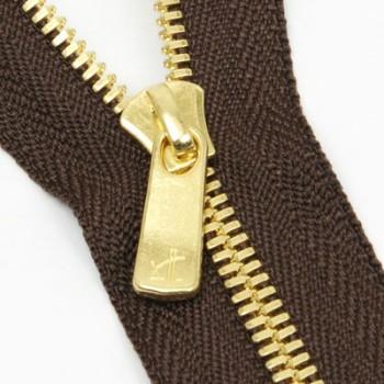 YKK Zipper <EXCELLA>#3 18cm Golden Brass