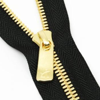 YKK Zipper <EXCELLA>#5 40cm Golden Brass