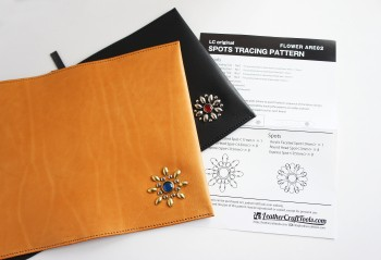 LC Original Spots Tracing Pattern Template(Flower ARE02)