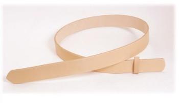 Hermann Oak Tooling Leather Belt Blanks H105cm x W2.5cm