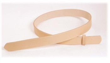 Hermann Oak Tooling Leather Belt Blanks H130cm x W2.5cm