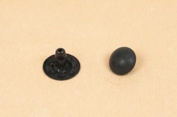 Domed Rivet <7 mm> - Dull Black -