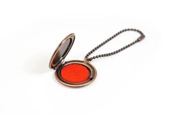 Metal Ink Pad Case <Bronze>
